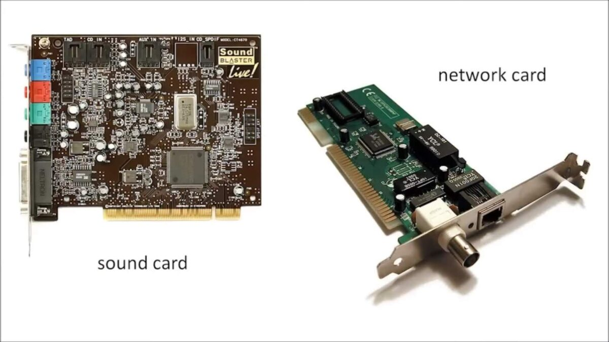 Sound and Network Cards